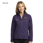 L324WB - EMB - WELDED SOFT SHELL JACKET (LADIES)