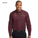 S608WB - EMB - LONG SLEEVE EASY CARE SHIRT